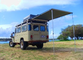 Alternatively Can Be Mounted To Existing Gordigear Roof Tent Rails